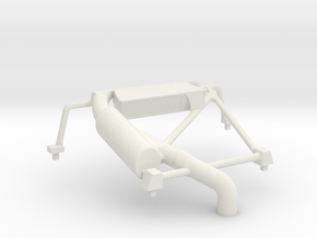 S05-SA2 Roll Cage for Scalextric Lancia Delta S4 in White Natural Versatile Plastic