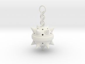 Custom Spikeball in White Natural Versatile Plastic