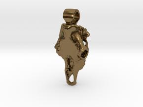 Boss Taurus in Polished Bronze
