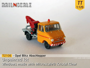 Opel Blitz A Abschlepper (TT 1:120) in Smooth Fine Detail Plastic