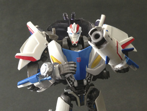 TFP upgrade set for Smokescreen in White Strong & Flexible