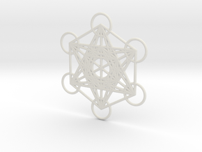 Metatrons cube custom  in White Strong & Flexible