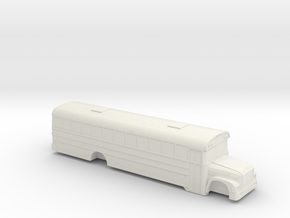 ho scale blue bird international 3800 school bus in White Natural Versatile Plastic