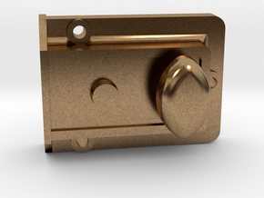 1/6 Scale TARDIS Night Latch Part 1 in Natural Brass