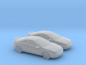 1/160 2X 1998-02 Mercury Cougar in Smooth Fine Detail Plastic