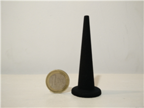 Balancing bird stand in Black Natural Versatile Plastic