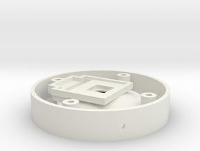 V1 AV CAM Mount part 2 of 8 in White Natural Versatile Plastic