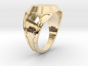 Elephant Ring (Size N) in 14K Yellow Gold