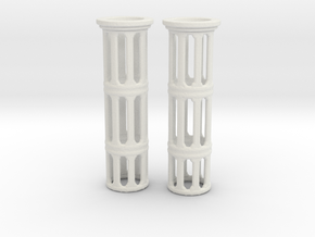 Turboshafts  in White Natural Versatile Plastic
