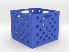 RC 1/10TH SCALE MILK CRATE in Blue Processed Versatile Plastic