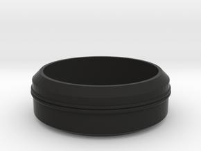 Smith/Capaldi Top Lamp Upper Full Size in Black Natural Versatile Plastic