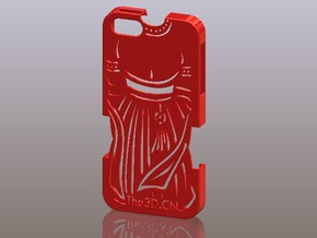 iPhone5_The Chinese Style -- Ancient costume 06 in Red Strong & Flexible Polished
