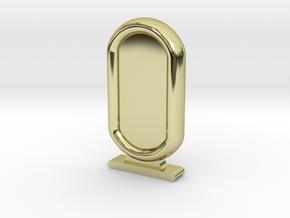 Amun Re Token in 18k Gold Plated Brass