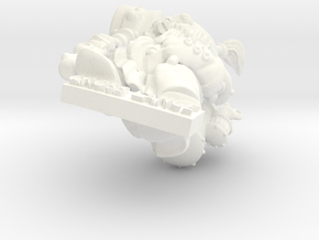 Nain in White Processed Versatile Plastic
