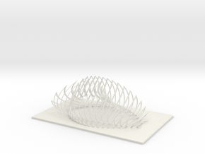 Architectural Design in White Natural Versatile Plastic