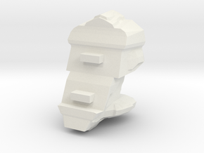 Legion - 002 Torso - 01 Adaptive Augmenter in White Natural Versatile Plastic