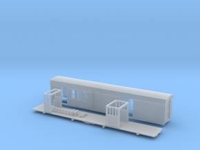 Sandy River #6 RPO/Baggage car HOn30 (no trucks) in Smooth Fine Detail Plastic