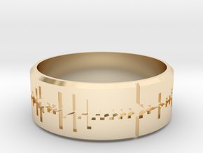 Amen, Brother - Amen Break Ring (size R 1/2)  in 14K Yellow Gold