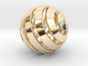 Ball-14-5 in 14K Gold