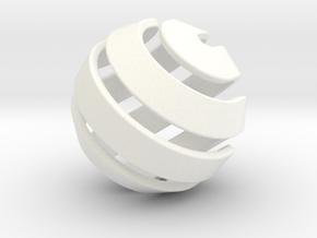 Ball-10-2 in White Processed Versatile Plastic