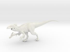 Dinosaur Indy Rex 25 cm V1 in White Natural Versatile Plastic