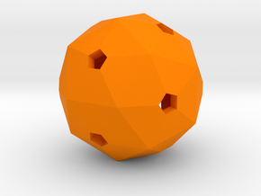 Hollow Blank D60 in Orange Processed Versatile Plastic
