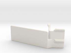 Mobius C-mount (25 degrees) in White Natural Versatile Plastic