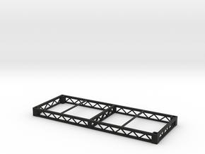 1:25 Platform 8x3, frame only in Black Natural Versatile Plastic
