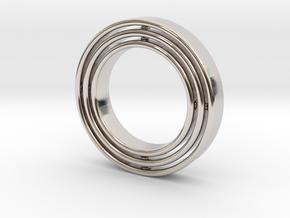 Ring Gyroscope in Platinum