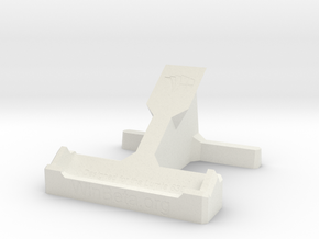 Lumia 830 Desk Stand in White Strong & Flexible