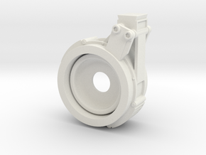 EE-3 JK Scope Mount Front in White Natural Versatile Plastic