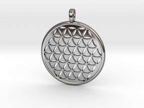 FLOWER OF LIFE [SIMPLE] in Premium Silver
