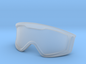 WW10005 Wild Willy Moto Goggles in Smooth Fine Detail Plastic