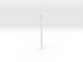 1/6 Movie Powersword in White Processed Versatile Plastic