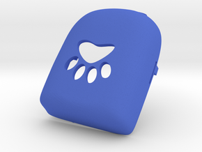 Pawprint Omnipod Case in Blue Processed Versatile Plastic