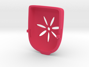 Flower Omnipod Case in Pink Processed Versatile Plastic