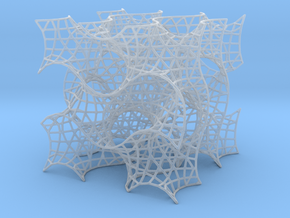 Gyroid Mesh-1.5 cells on a side in Smooth Fine Detail Plastic