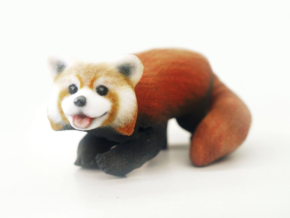 Red Panda  in Full Color Sandstone