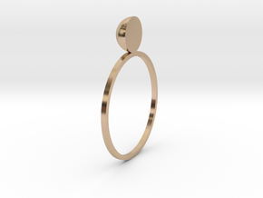 caitlin in 14k Rose Gold Plated Brass