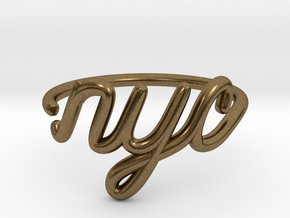 NYC Wire Ring (Adjustable) in Natural Bronze