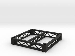 1:25 Platform 3x3, frame only in Black Natural Versatile Plastic