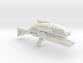 M8 Avenger Rifle in White Natural Versatile Plastic