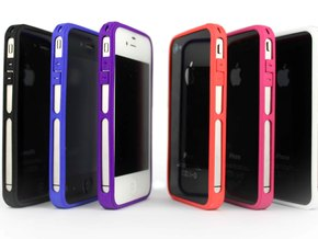 Brute for iPhone 4 - Thin but Tough in Blue Processed Versatile Plastic