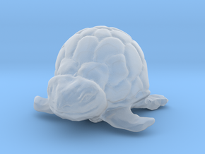 Turtle Miniature in Smooth Fine Detail Plastic