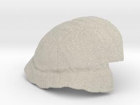 Turtle Shell Prosthetic in Natural Sandstone
