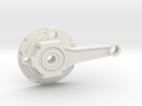 Push Rod Disk LH in White Strong & Flexible