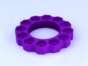 TriCyclone Vape Stand: Outter Ring in Purple Processed Versatile Plastic