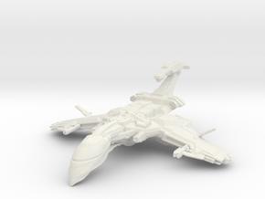 Scorpion Class BattleCruiser in White Natural Versatile Plastic