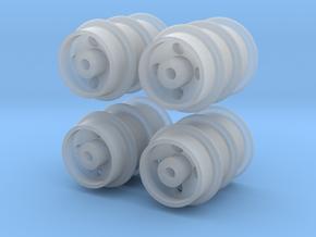 12 Feldbahn-Räder 280mm, 1:43,5/1:45/1:48 in Smoothest Fine Detail Plastic