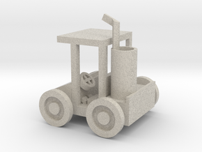 Small Golf Car in Natural Sandstone